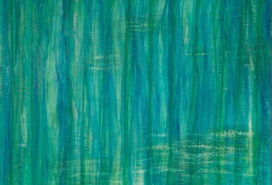 Harmoniebad - Öl auf Leinwand - Format 100cm x 120cm