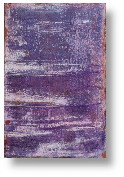 dein Heiligtum - INTONACO auf Malpappe schwebend gehängt - Format 40cm x 60cm